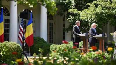 Donald Trump, Egyesült Államok, Fehér Ház, Klaus Iohannis, NATO, Románia, Washington