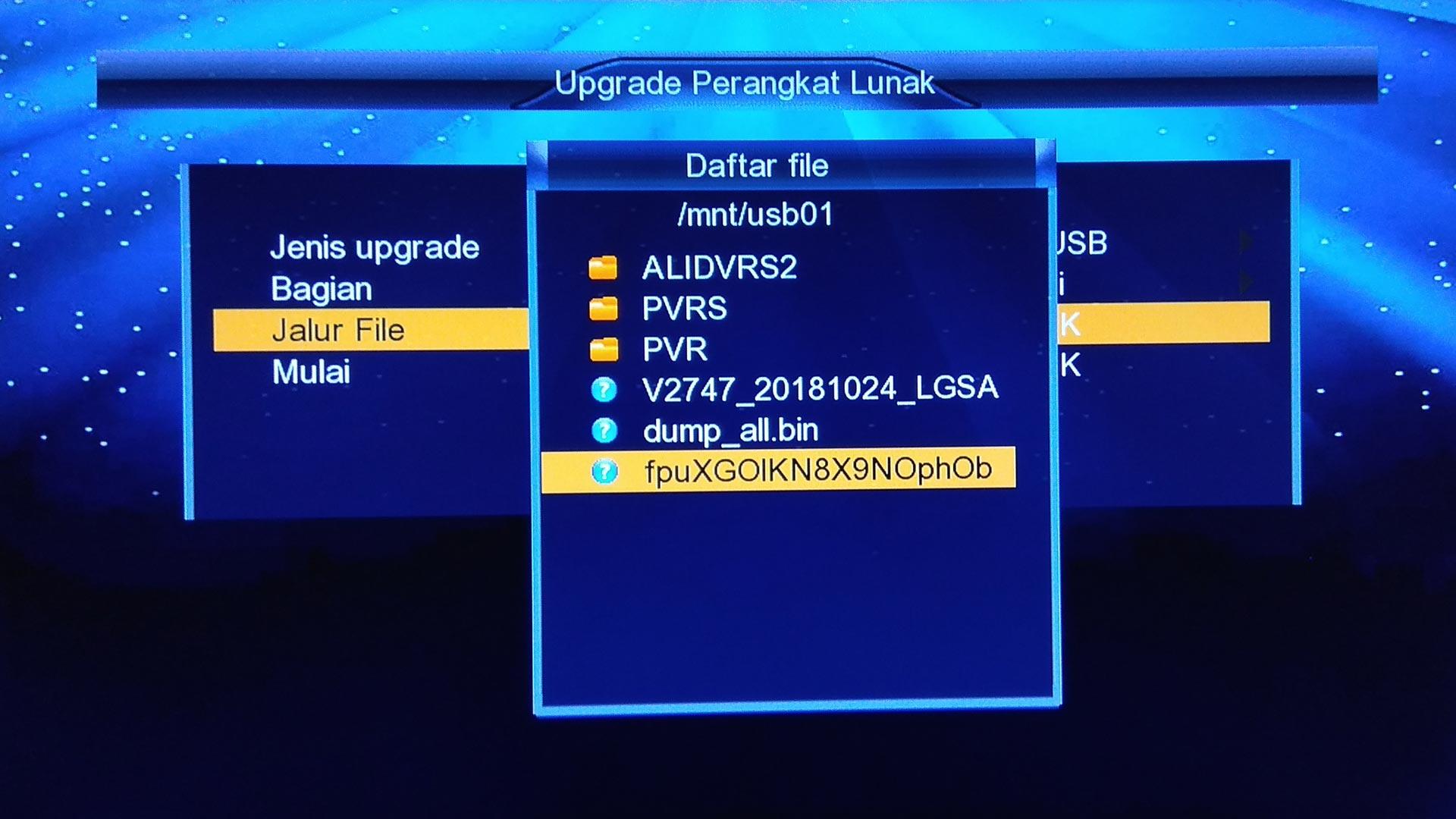 Cara Upgrade SW Lgsat Bigbang HD Guoxin GX6605S