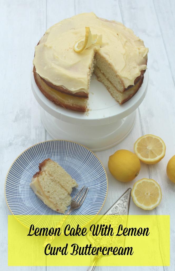 Lemon Sandwhich Cake