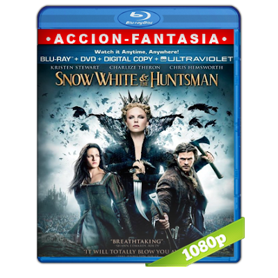 Blancanieves Y El Cazador (2012) BRRip Full 1080p Audio Trial Latino-Castellano-Ingles 5.1