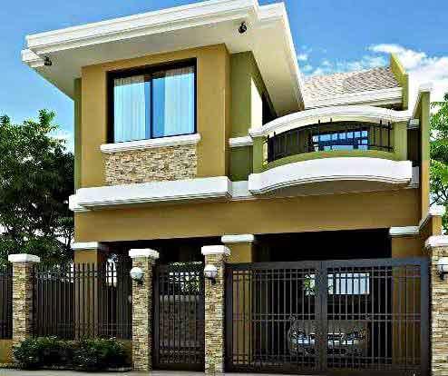 35+ inspirasi model desain rumah minimalis 2 lantai sederhana