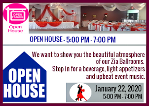 January 22, 2020 - Zia Grande Ballroom Open House