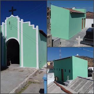 Cemitério centenário de Picuí recebe banheiros e completa reforma