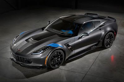 Chevrolet Corvette Grand Sport Collector Edition (2017) Front Side