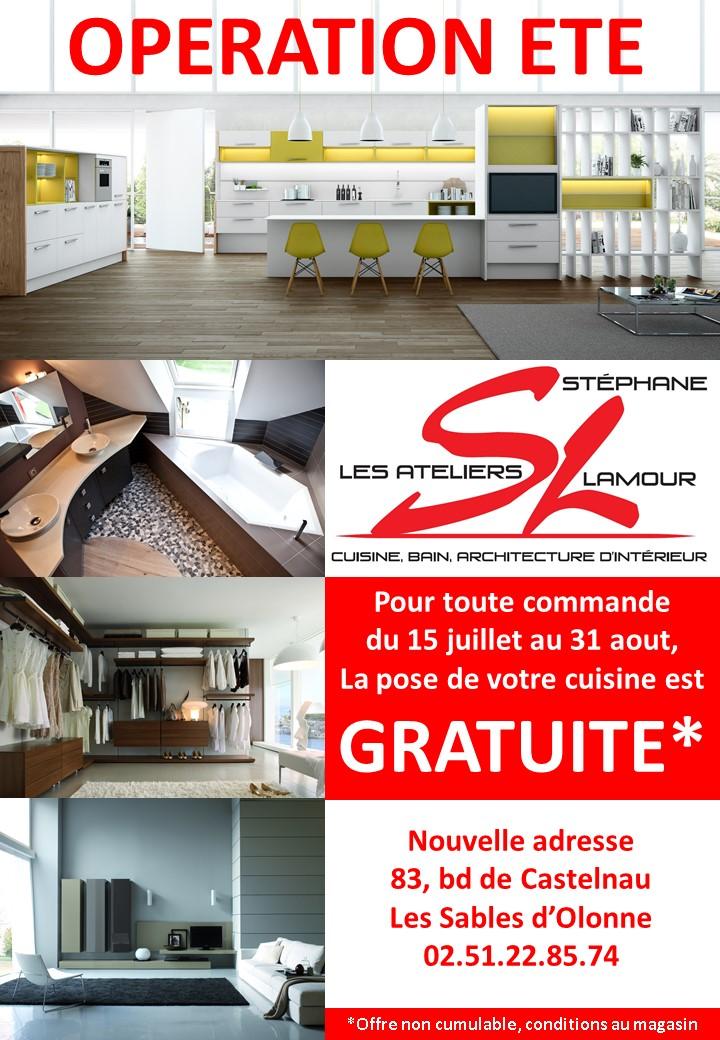 les ateliers st phane lamour promo de l 39 t. Black Bedroom Furniture Sets. Home Design Ideas