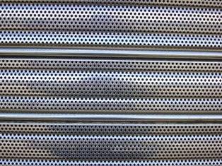 Lama microperforada persiana aluminio