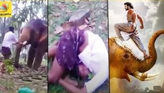 Kerala Boy breaks neck after a failed BAHUBALI Stunt | Must Watch!