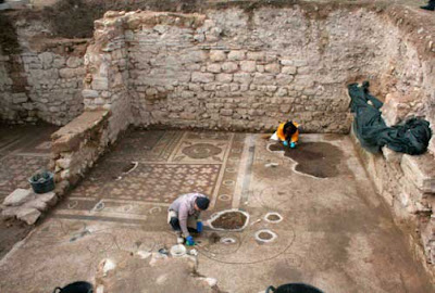 More on Mosaic floor unearthed at ancient Plotinopolis