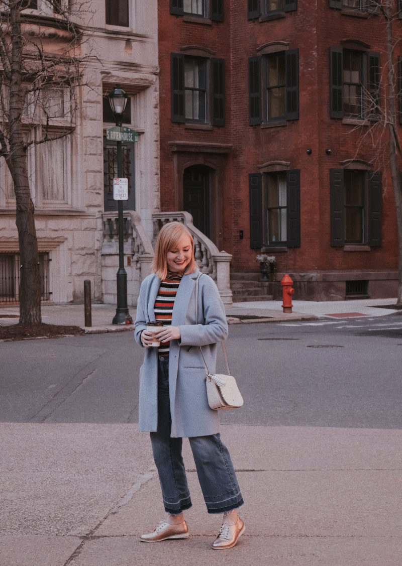 The Perfect Early Spring Coat | Organized Mess