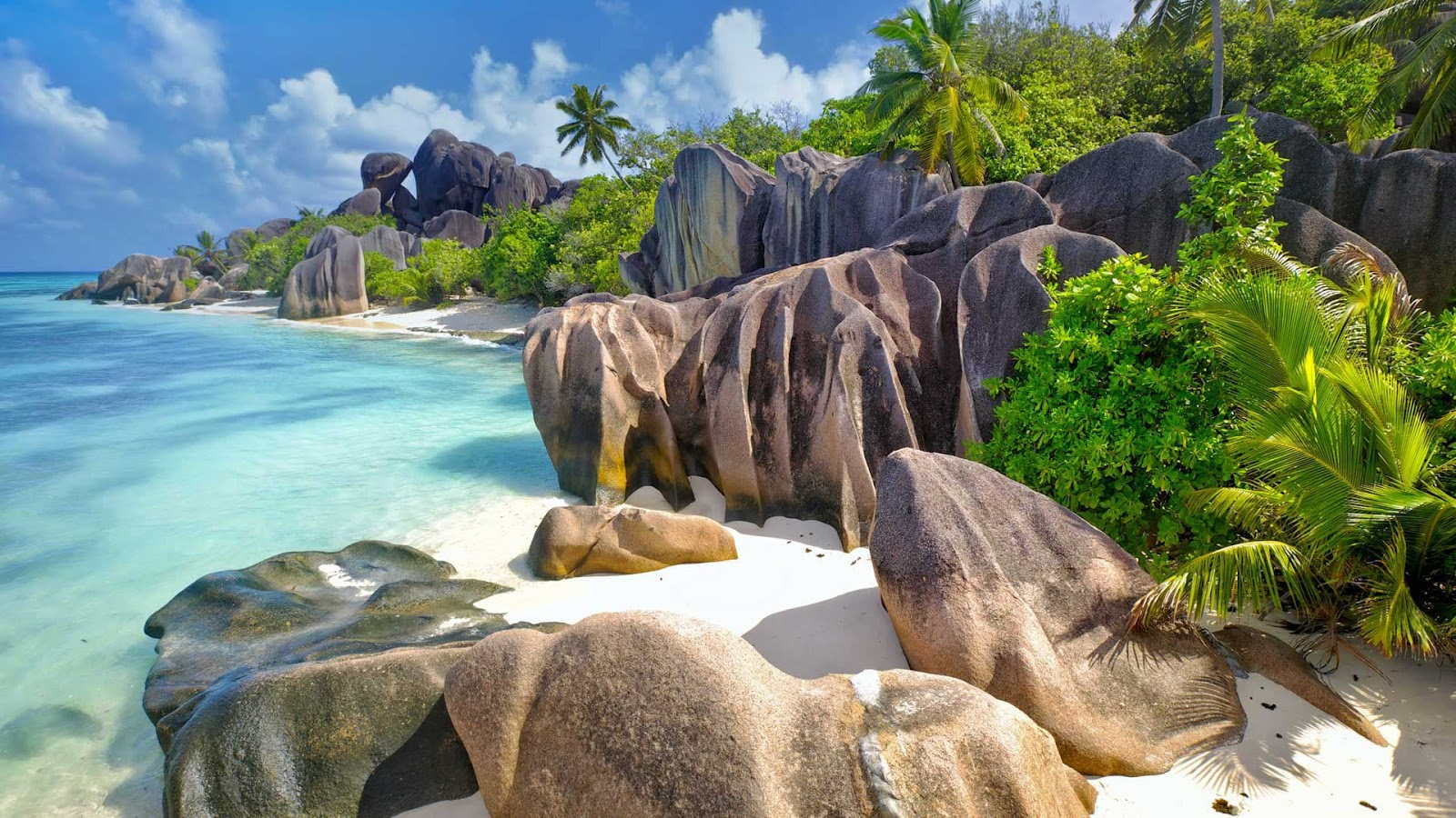 La Digue, an island in the Seychelles