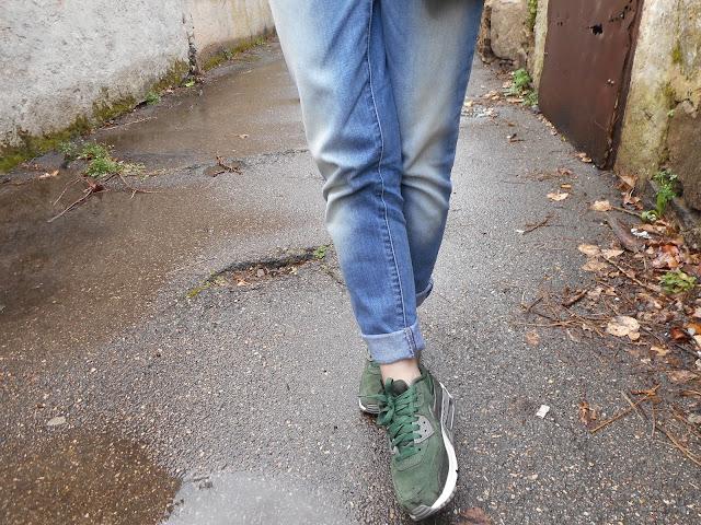 look outfit tenue kaki argenté