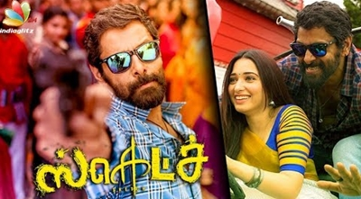 Stunning Tamanna & Vikram in Sketch movie – Teaser releasing next month