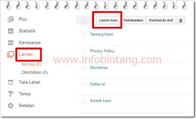 Cara membuat sitemap atau daftar isi blog otomatis