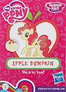 My Little Pony Wave 13B Apple Bumpkin Blind Bag Card