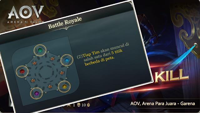 KEREN PARAH! Mode Baru AOV Bermain Battle Royale Cuma 8 Menit