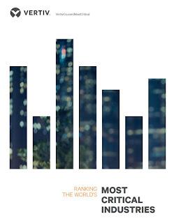Source: Vertiv website. Most critical industries worldwide.