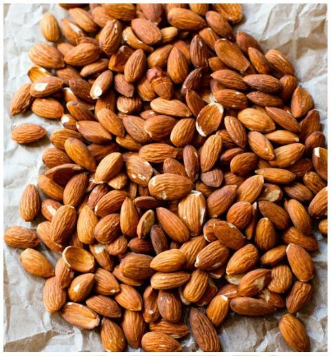 Almonds For Healthy Heart