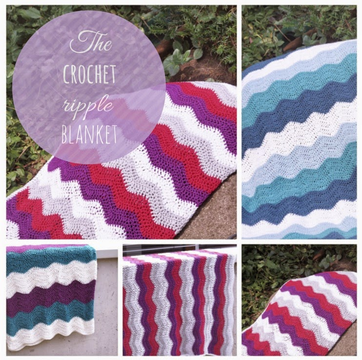 Zaubercraft The Crochet Ripple Blanket Ein Tutorial