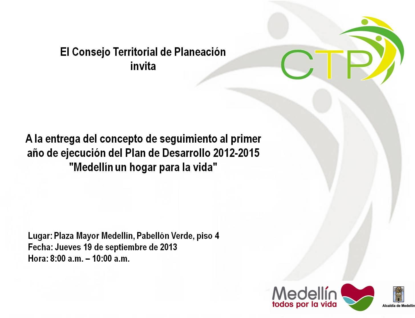 Consejo De Juventud Medellín Invitación Para Tod S Entrega