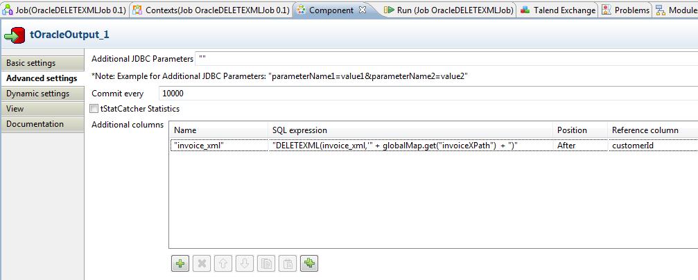 bekwam blog manipulating oracle xmltype with talend open studio