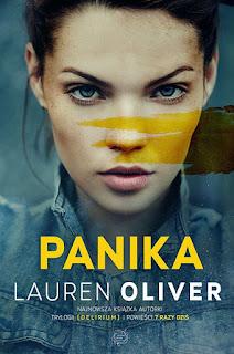 """#92 Recenzja książki """"Panika"""" Lauren Oliver"""