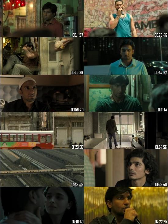Gully Boy 2019 Hindi 720p 480p HDRip x264 Full Movie