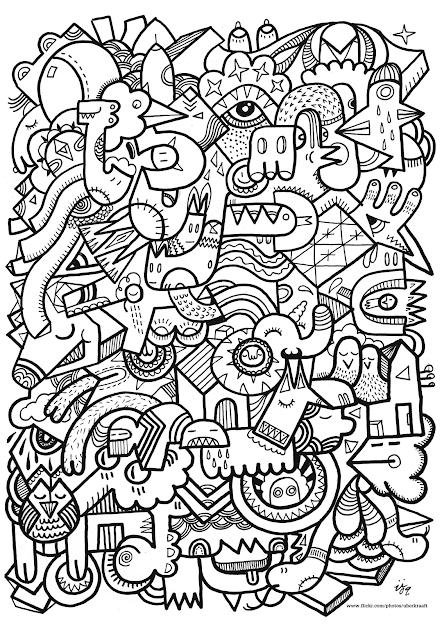 Coloriage Anti Stress Pour Adulte Imprimer  Colorier  Dessin   Coloring  Page
