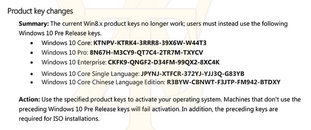Windows 10: Product Key Windows 8.x Tidak Lagi Bisa ...