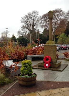 Grove Academy War Memorial 11.11.2014