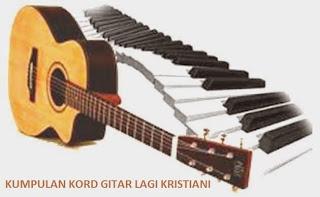 Kord Gitar Lagu NKB 172 Dalam Rumah Bapaku