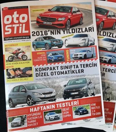 Yeni otomobil dergiisi OtoStil
