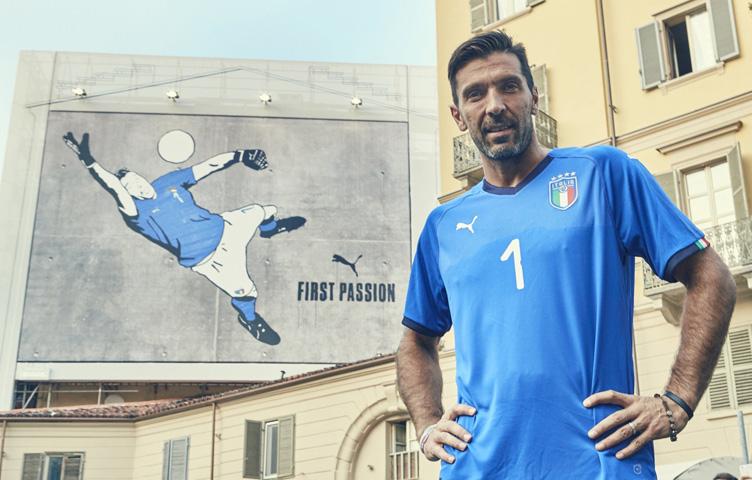 Buffon predstavlja novi logo FIGC i novu garnituru Azzurra
