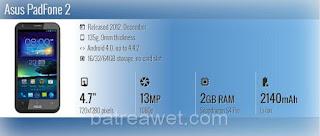 5. Asus PadFone 2