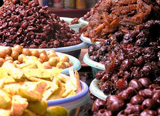 Sugared dry fruits