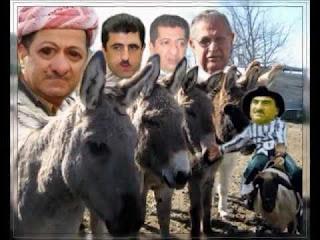 اسرائيل راهنت على الحمار الخاسر في كردستان