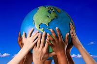 We houden de wereld samen in onze handen