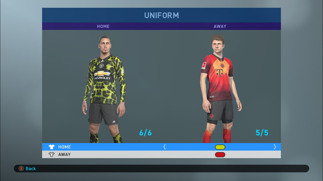 480a38619 FIFA 19 Adidas x EA Sports Digital 4th Kits for PES 2019 ...