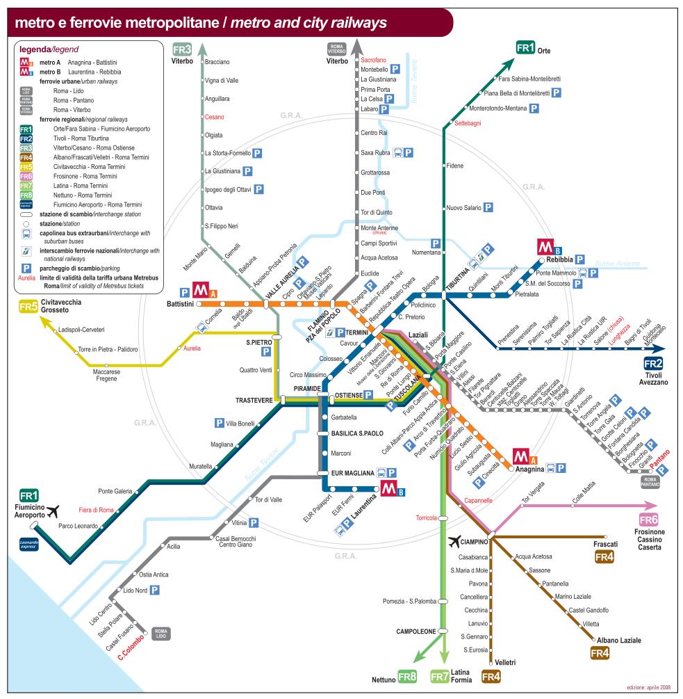Cartina Metropolitana Roma Pdf.Mappa Roma Antica Pdf