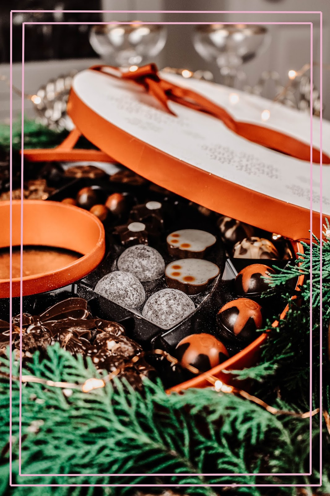 Hotel Chocolat Christmas Wreath 2018 Giveaway