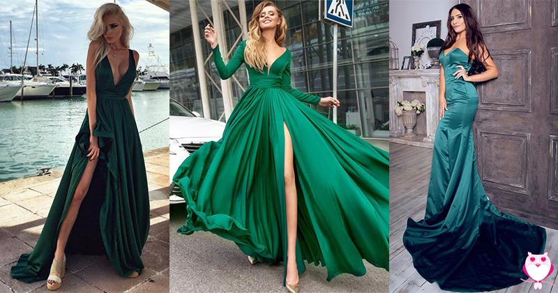 Top 8 Vestidos de Festa Verdes e Lindos
