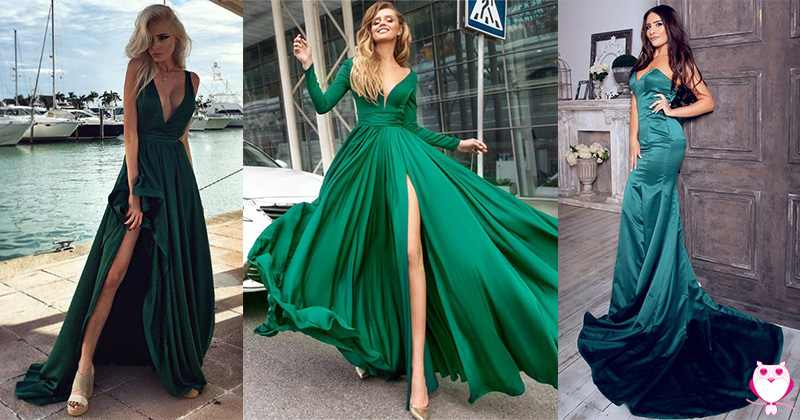 Top 8 Green and Gorgeous Party Dresses