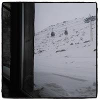 vue depuis le resto d'altitude chalets de Thorens