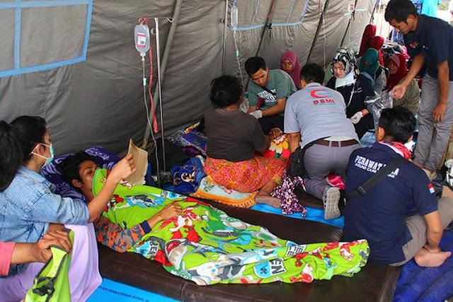 Sedih! Mulai Terserang Penyakit, Begini Nasib Memilukan Pengungsi Gempa Lombok