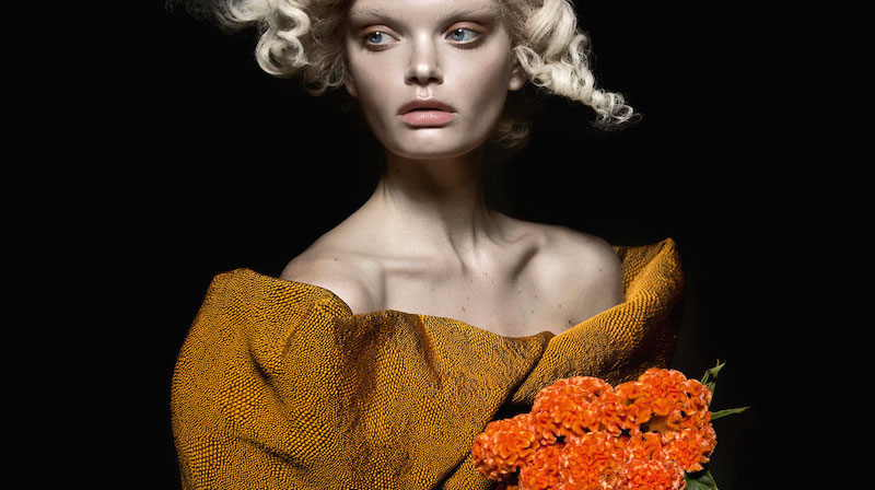 the flower: marthe wiggers by thom kerr for black magazine #23