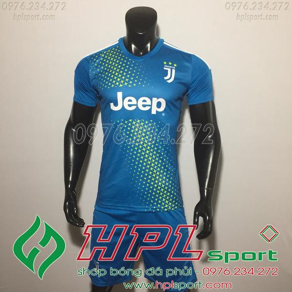 Áo bóng đá câu lạc bộ Juventus xanh Training  2019