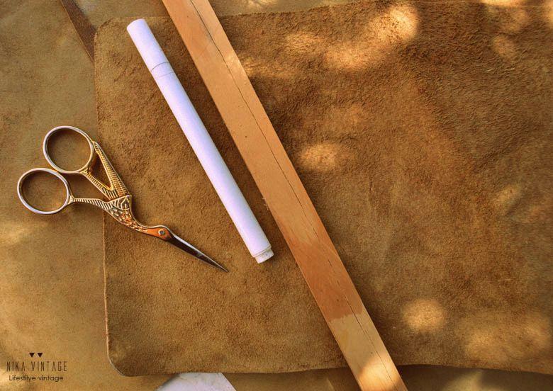 Diy, agenda, libreta, planificador anual anillas, renovar, renovación, piel, cuero, handmade, tutorial, paso a paso
