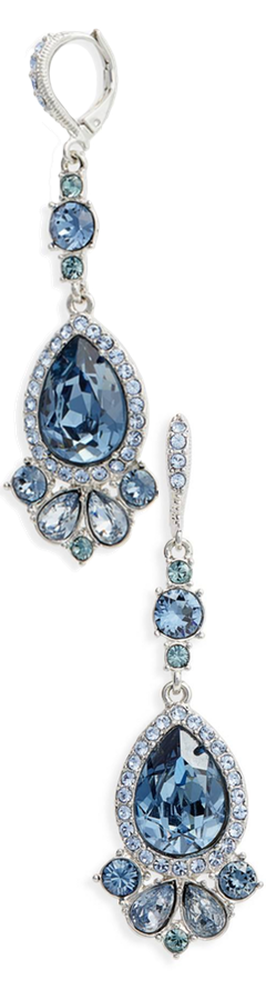 Givenchy Verona Large Pear Drop Earrings