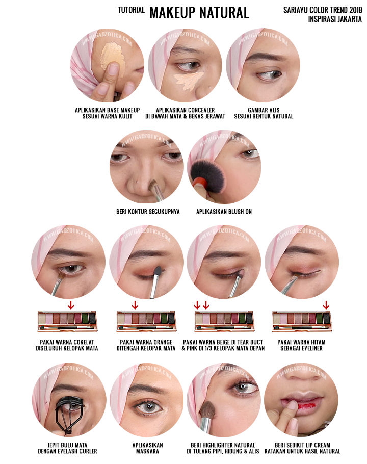 Tutorial Makeup Daily