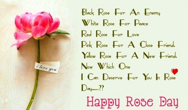 Happy Rose Day Shayri 2017