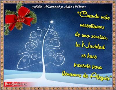 Pensamientos Navideños para desear una Feliz Navidad